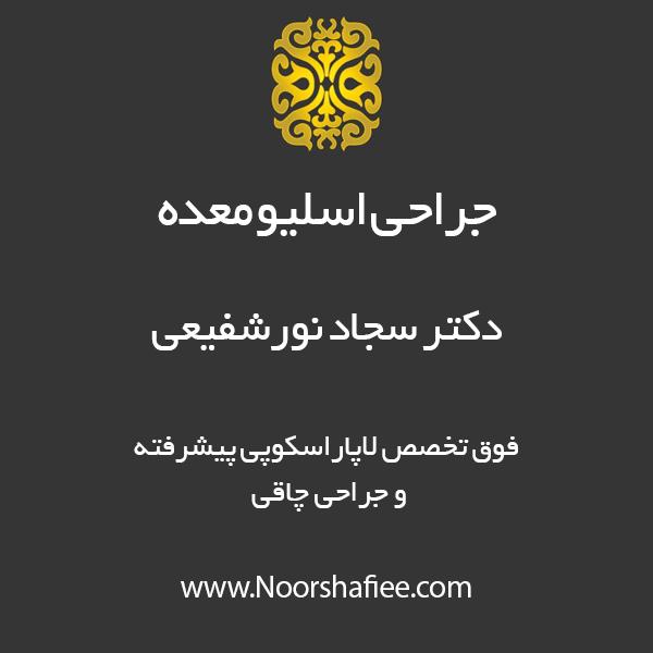 جراحی اسلیو معده   جراحی اسلیو مشهد   جراحی اسلیو   دکتر سجاد نورشفیعی   جراحی چاقی مشهد